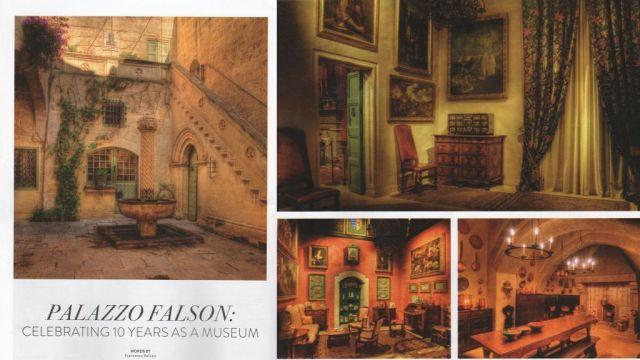 Mdina, Falson palota, kollázs