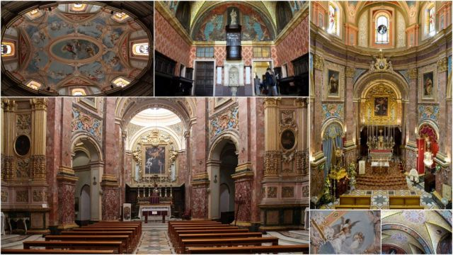 Mdina, Karmelita templom kollázs