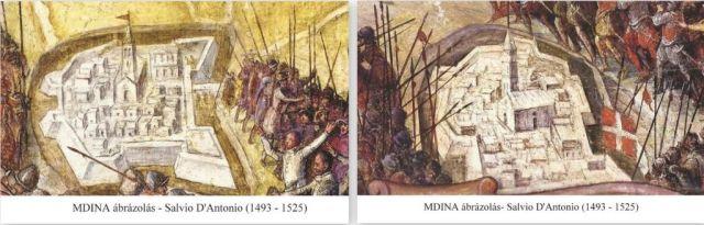 Mdina, Salvio D'Antonio ábrázolás