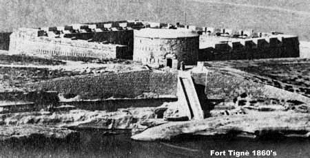 Fort Tigné ca. 1860's