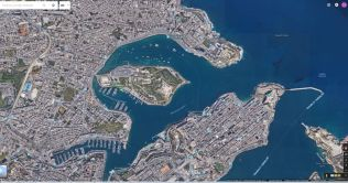 Sliema,_Manoel_Island_google_earth_