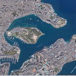 Sliema,_Manoel_Island_google_earth_