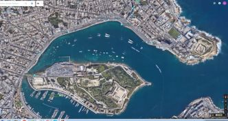 Sliema,_Manoel_Island_google_earth__3