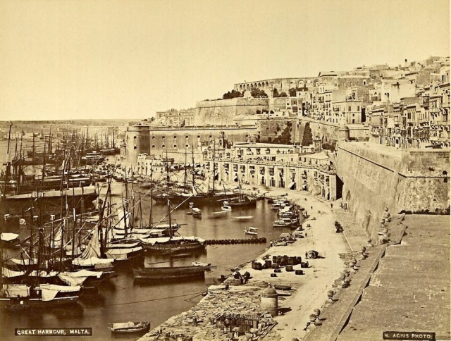 Valletta Port 1879
