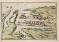 1597. tkp, kézzel színezett réznyomat, kölni kiadás
