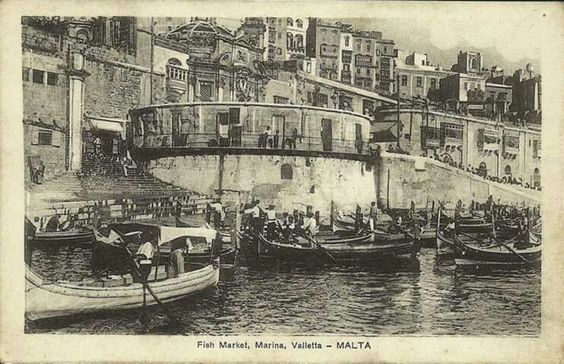 Fishmarket, Valletta - J. Borda