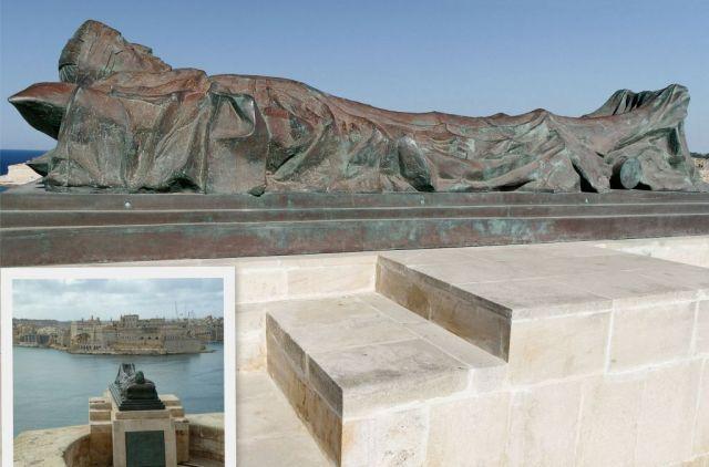 Grand Harbour, Ismeretlen katona emlékműve