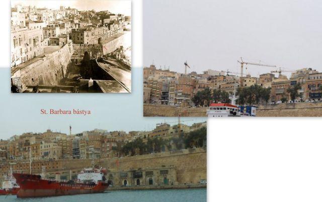 Valletta, Grand Harbour, St. Barbara bástya