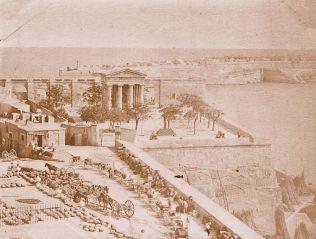 Lower Barakka, Valletta 1870's -f
