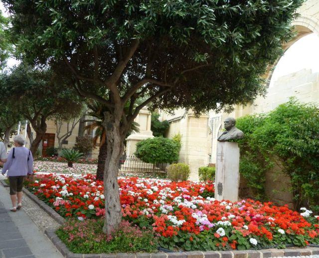 Málta P1670340 Valletta, Felső Barakka Kertek