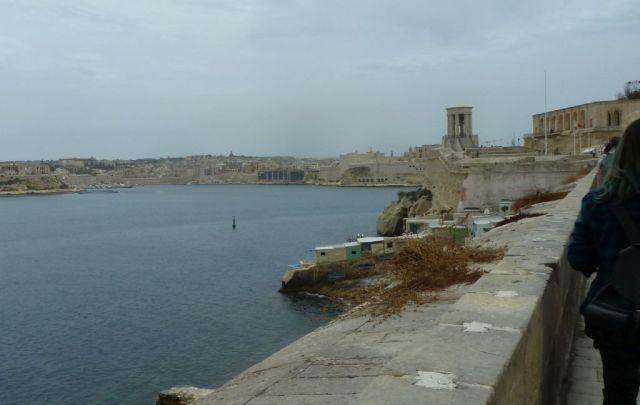 Málta P1670526 Valletta, St. Lazarus Curtain