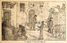 máltai pestis, 1814-15