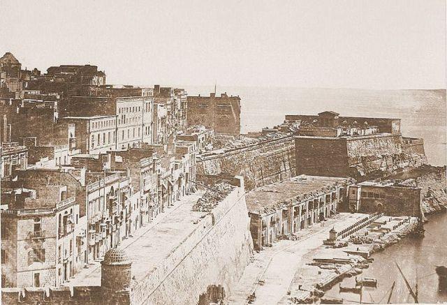 St. Barbara bastion cca. 1860 f