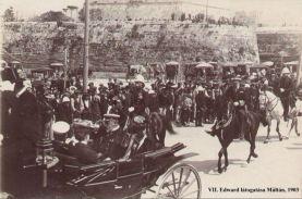 VII. Edward látogtása Máltán 1903