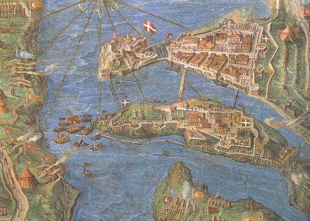 Birgu - Senglea, Siege of Malta -fresco, Wiki