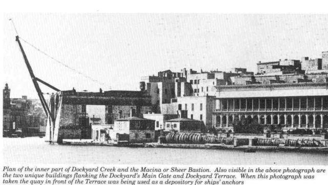 Dockyard Creek, Macina, Sheer Bastion