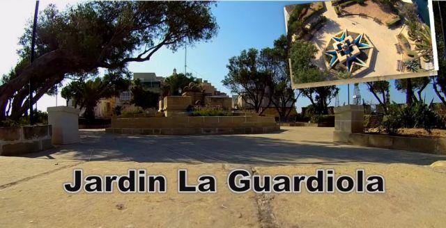 L'isla - Senglea- Jardin la Guardiola- kollázs