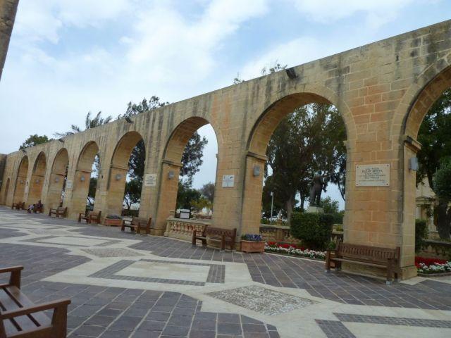 Málta P1670326 Valletta, Felső Barrakka kertek