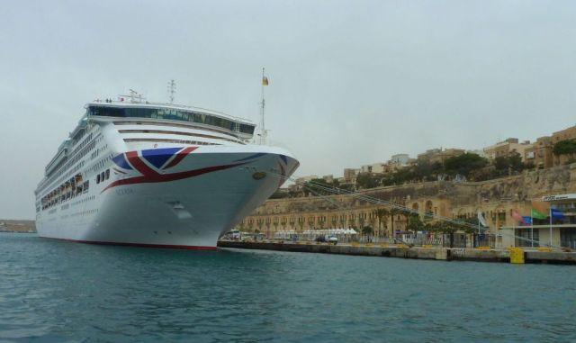 Málta P1670660 Valletta Waterfront