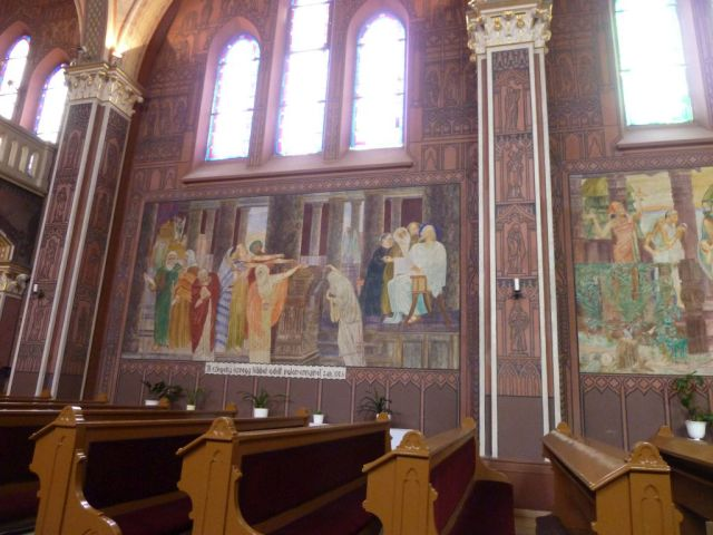 006 Szent Erzsébet plébánia templom P1730393 A szegény asszony két fillére, Pesterzsébet