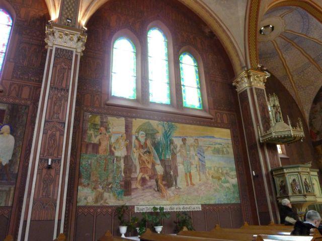 008 Szent Erzsébet plébánia templom P1730394 A tékozló fiú hazatérése, Pesterzsébet