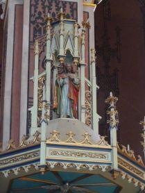 011 Szent Erzsébet plébánia templom P1730357, Pesterzsébet