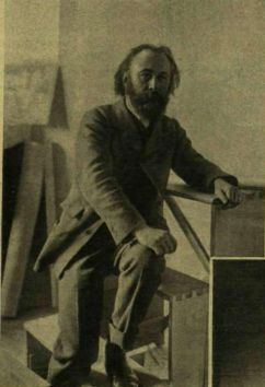 Nagy_Sándor_festő_fényképe (fotó - Balogh Rudolf, Vasárnapi Ujság 1910)