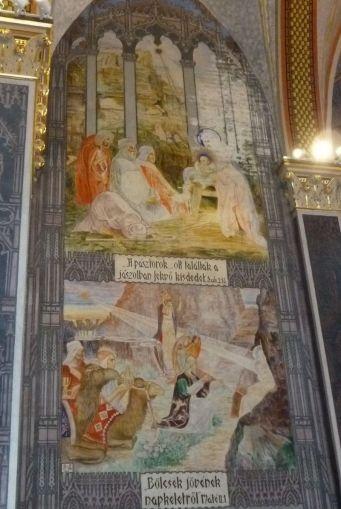 Szent Erzsébet plébánia templom P1730331, Pesterzsébet - Pásztorok, Napkeleti Bölcsek
