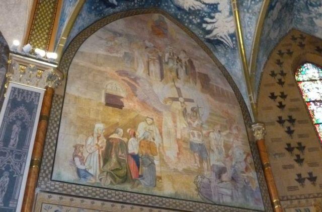 Szent Erzsébet plébánia templom P1730332, Pesterzsébet- Szt István évi ciklus