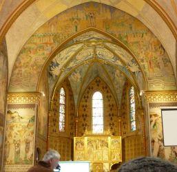 Szent Erzsébet plébánia templom P1730386, Pesterzsébet - Diadalív