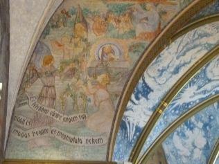 Szent Erzsébet plébánia templom P1730661 diadalív, Pesterzsébet