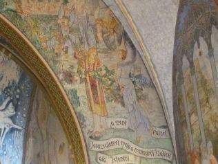 Szent Erzsébet plébánia templom P1730663 diadalív, Pesterzsébet