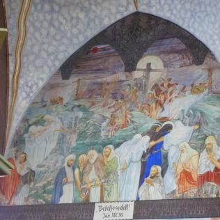Szent Erzsébet plébánia templom P1730681 Levétel a keresztről, Pesterzsébet