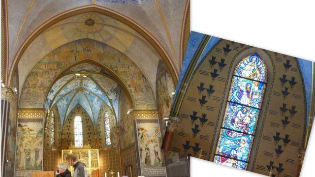 Szent Erzsébet templom kollázs 2