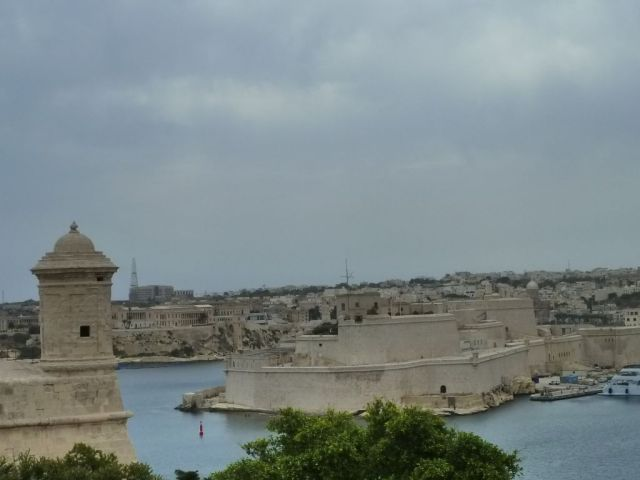 Málta P1670303aaa Valletta, Fort St. Angelo