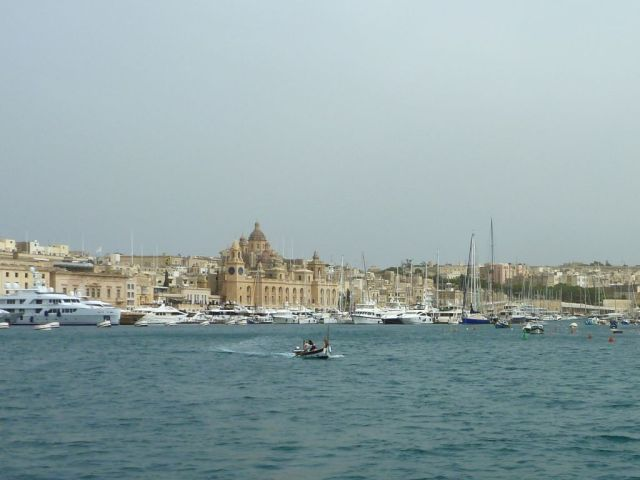 Málta P1670710 a Birgu, Marina Grande