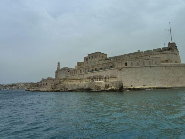 Málta P1670728 Grand Harbour, Fort St. Angelo