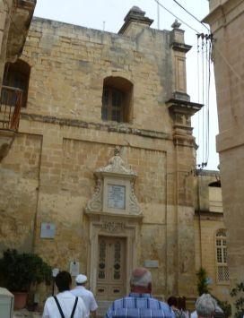 Málta P1690006 Három város, Birgu Szent József oratórium