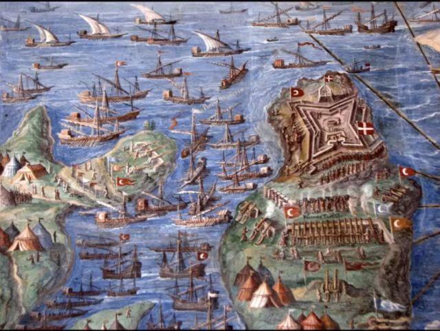 1565 San Elmo ostroma