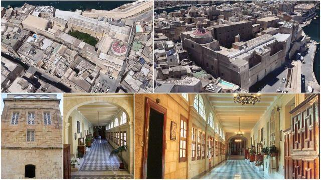 Első lovag-kórház, kolostor és templom
