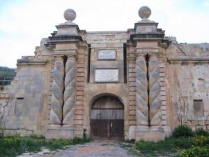 Fort Ricasoli újjáépített kapuja - vassallohistory