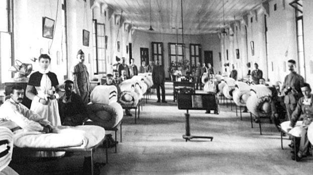 I.VH katonai kórterem, Cottonera hospital