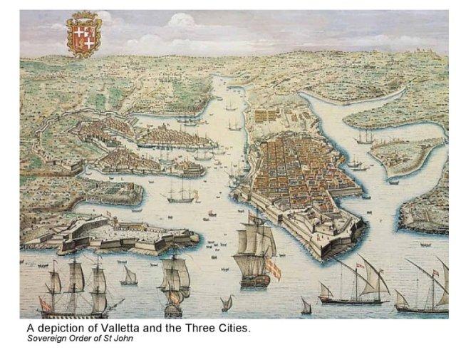 Insight Guide, Malta Ábrázolás,_Valletta_és_háromváros