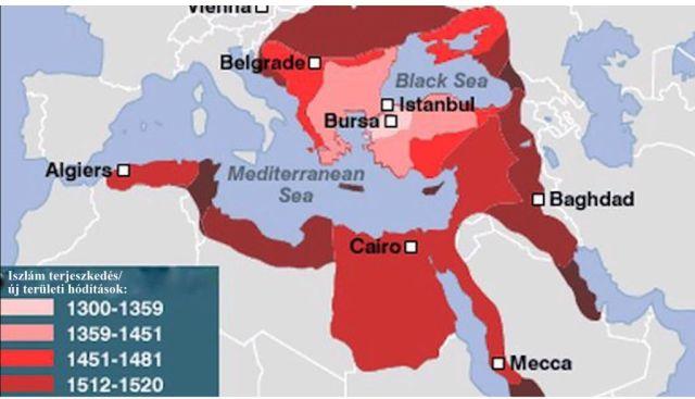 Iszlám világ terjeszkedése, 1300-1520