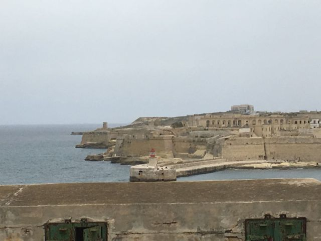 Málta IMG_4716 Zsu - Valletta, St. Elmo - Fort Ricasoli