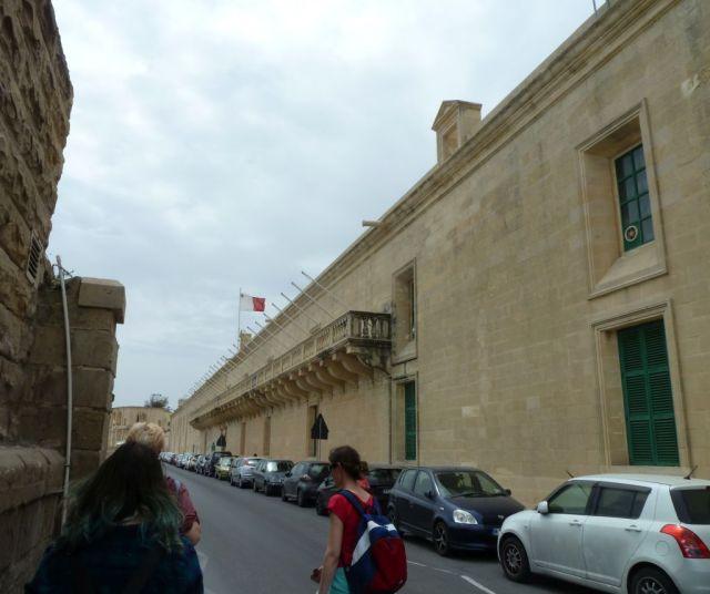 Málta P1670525 Valletta, Sacra Infermeria- Nemzetközi Konferencia központ