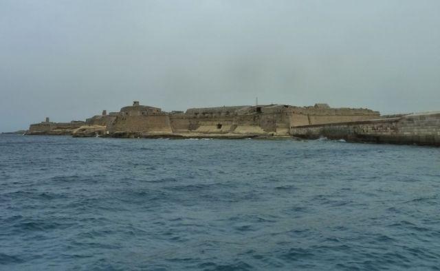 Málta P1670753 Grand Harbour, Ricasoli erőd