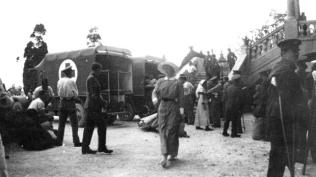 Sebesütek érkezése Gallipoliból