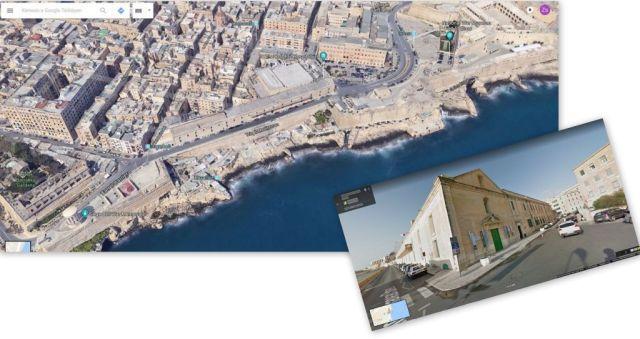 Valletta- Sacra Infermeria, kollázs