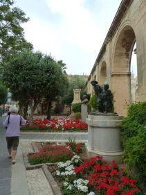 Málta P1670339 Valletta, Felső Barakka